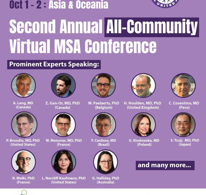 ALL COMMUNITY MSA VIRTUAL CONFERENCE, SEPT 24-OCT 2 – FREE